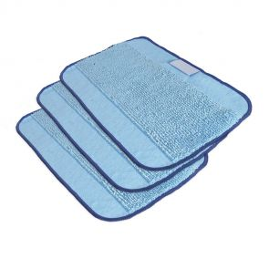 Microfiber Wet Mopping Cloths 3 Pack - Braava 380t Robot Mop