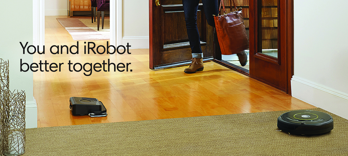 iRobot vacuum cleaner and mopping robot